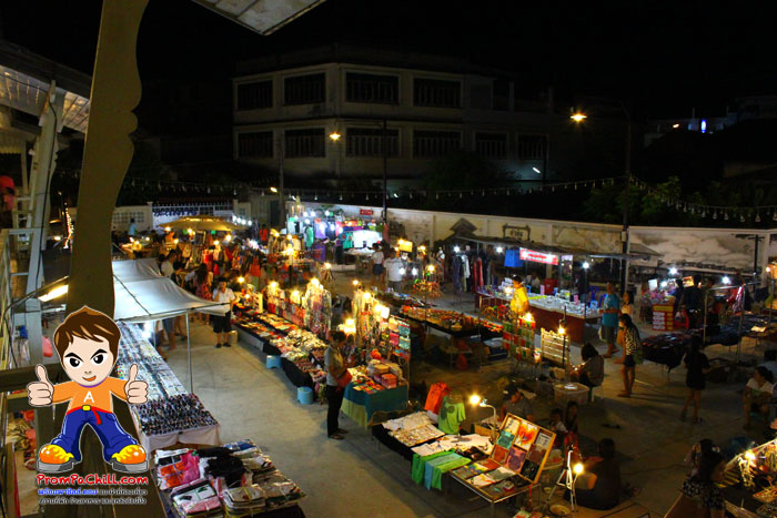 ตลาดนัดฉัตรศิลา,ตลาดนัดกลางคืน,ตลาดนัดหัวหินเปิดใหม่