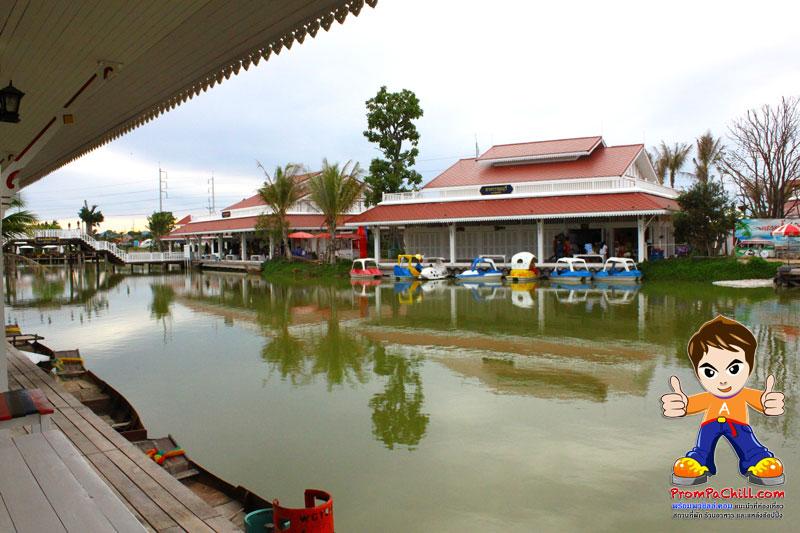 บรรยากาศ ตลาดน้ำหัวหิน-huahinfloatingmarket