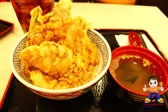 ข้าวหน้าหมูเทมปุระ-Yoshinoya