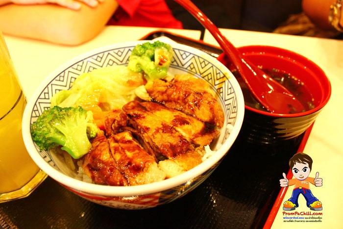 ข้าวหน้าไก่เทริยากิ-Yoshinoya