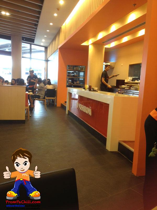 บรรยากาศภายใน ข้าวหน้าร้านเนื้อ-Yoshinoya