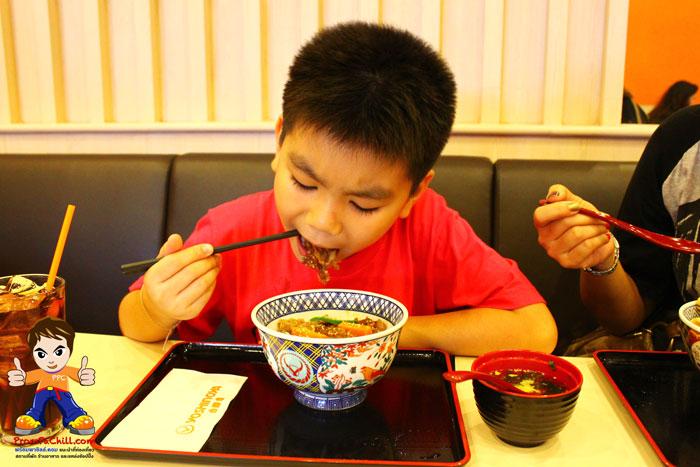 รีวิวข้าวหน้าเนื้อ-Yoshinoya