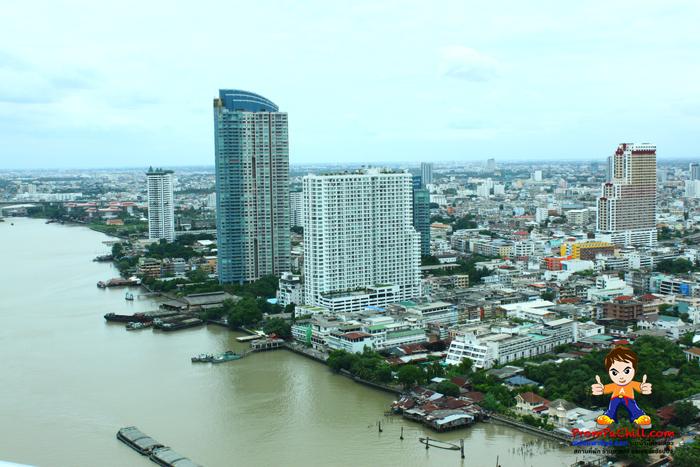 มุมมองจากห้องอาหารจีน Silver Waves โรงแรม ชาเทรียม ริเวอร์ไซต์ กรุงเทพ-Chatrium Hotel Riverside Bangkok