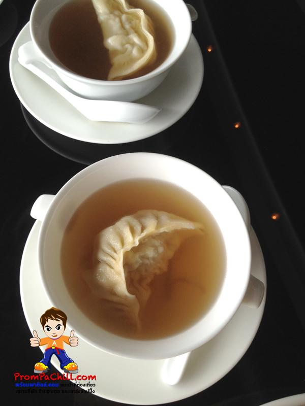 ซุปเกี๊ยวกุ้ง น้ำใส กุ๊งตัวโตๆ อร่อยๆๆ ^ ^